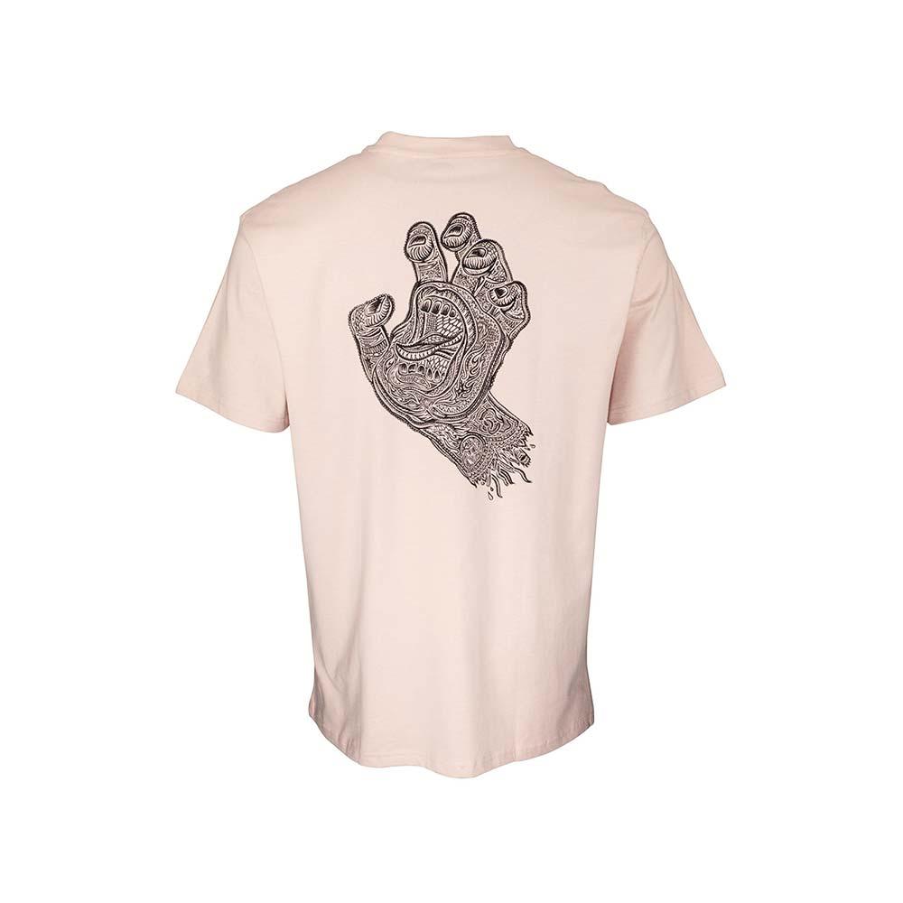 T shirt Santa Cruz Muerte Screaming Hand Mushroom 2