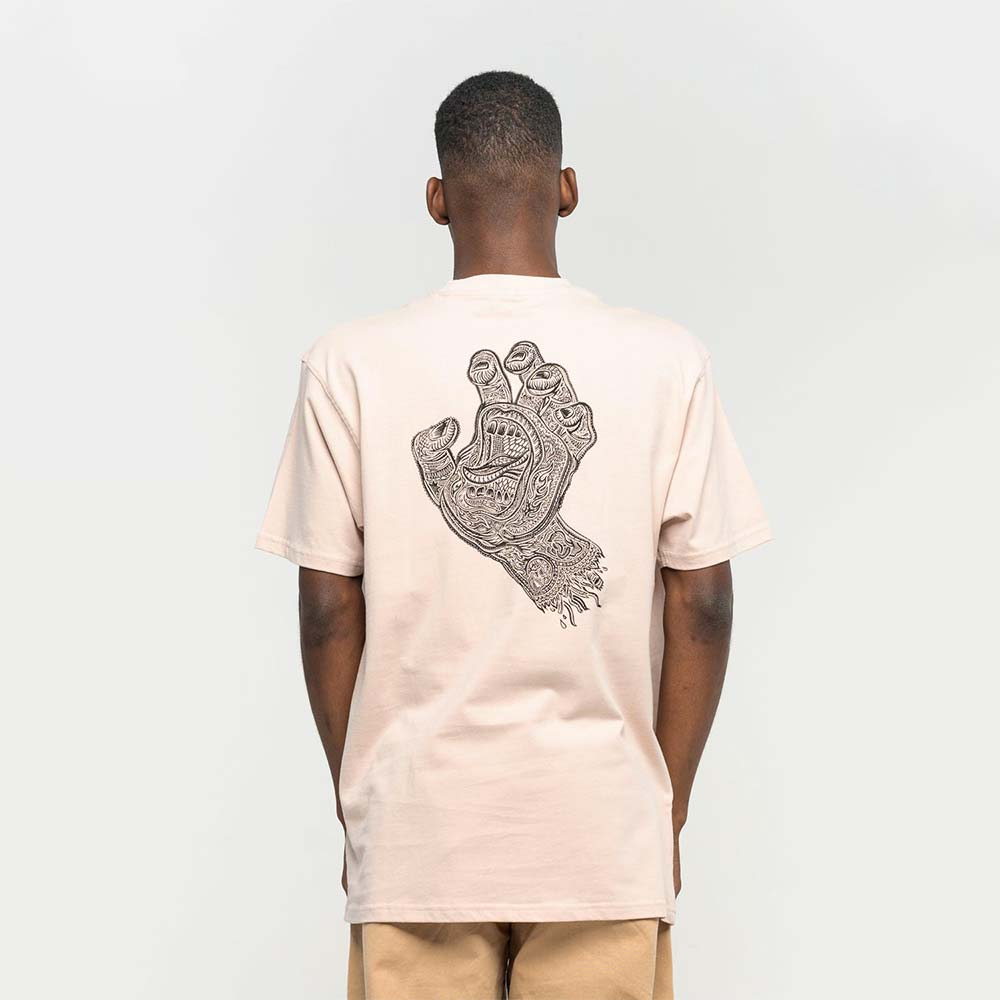 T-shirt Santa Cruz Muerte Screaming Hand Mushroom