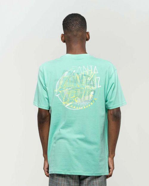 T-shirt Santa Cruz No Pattern Dot Jade Green