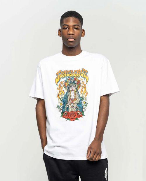 T-shirt Santa Cruz Santa Muerte White
