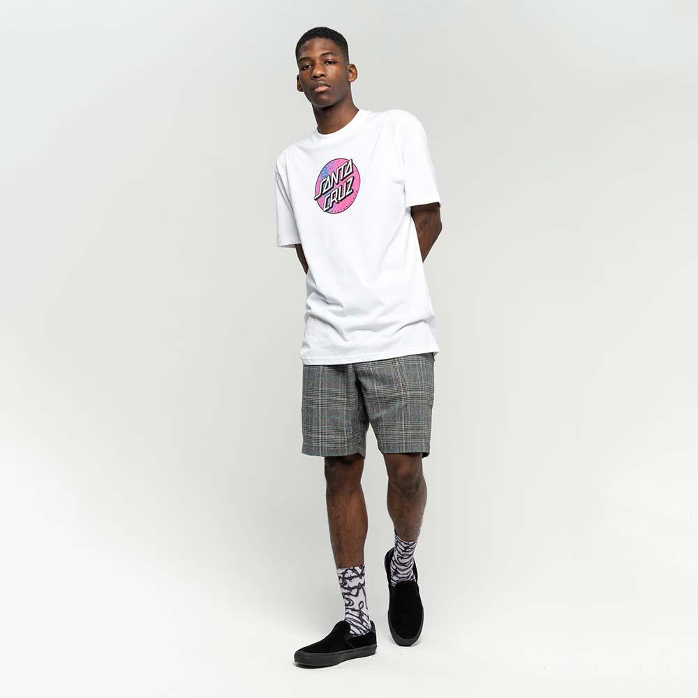 T-shirt Santa Cruz Scales Dot White