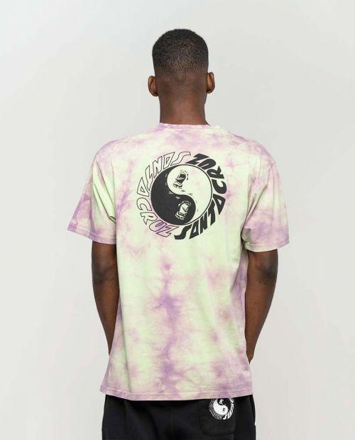 T-shirt Santa Cruz Scream Ying Yang Chest Trippy Cloud