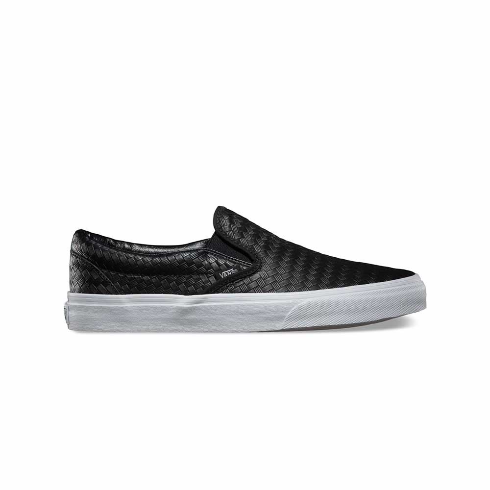 Scarpe Vans Classic Slip-On Embossed Weave Black