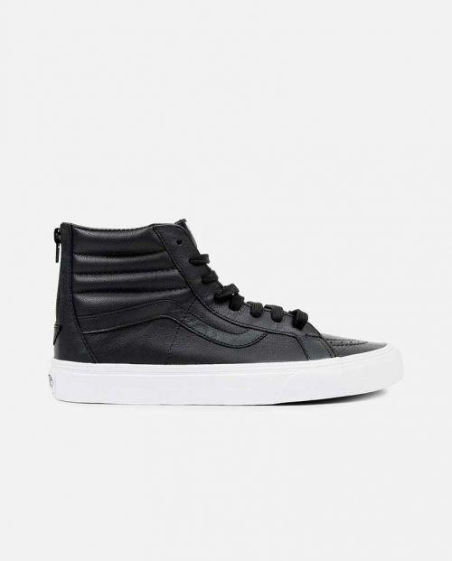 Scarpe Vans SK8 Hi Reissue Premium Leather Black