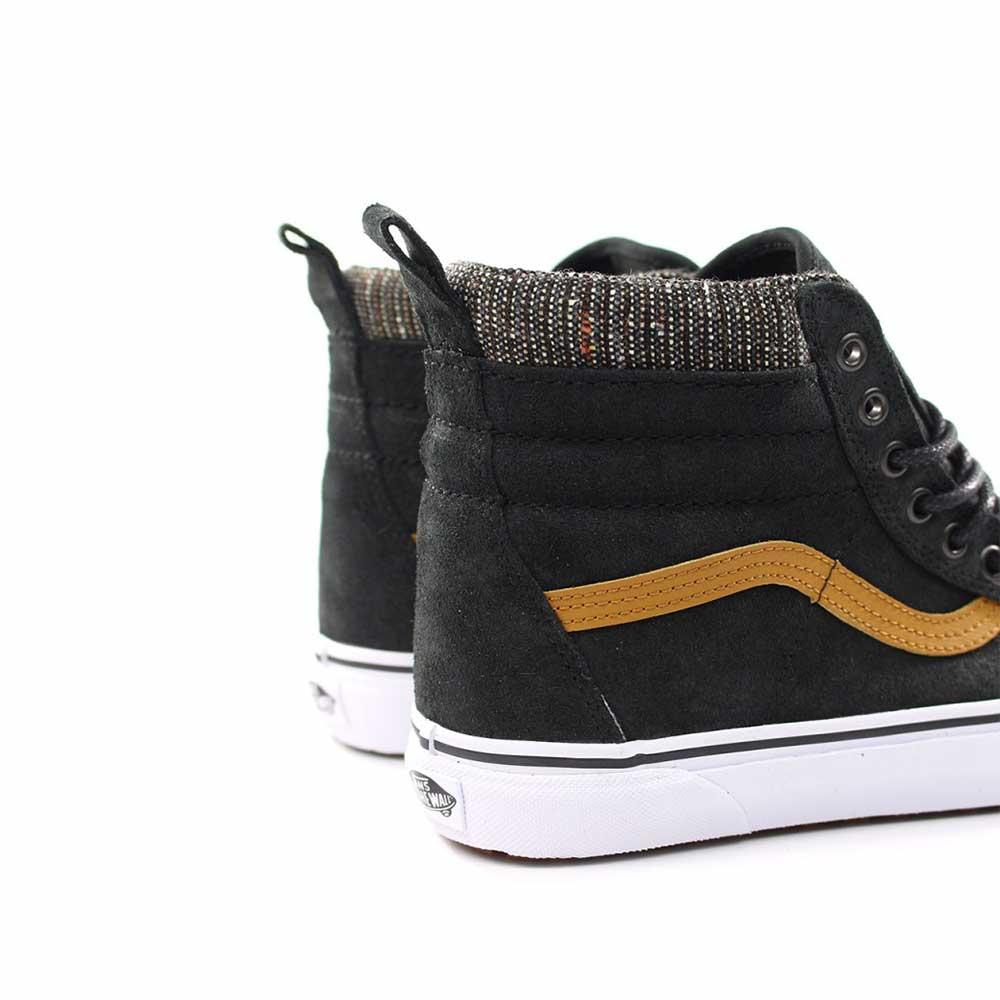 Scarpe Vans Sk8-Hi MTE Black Tweed