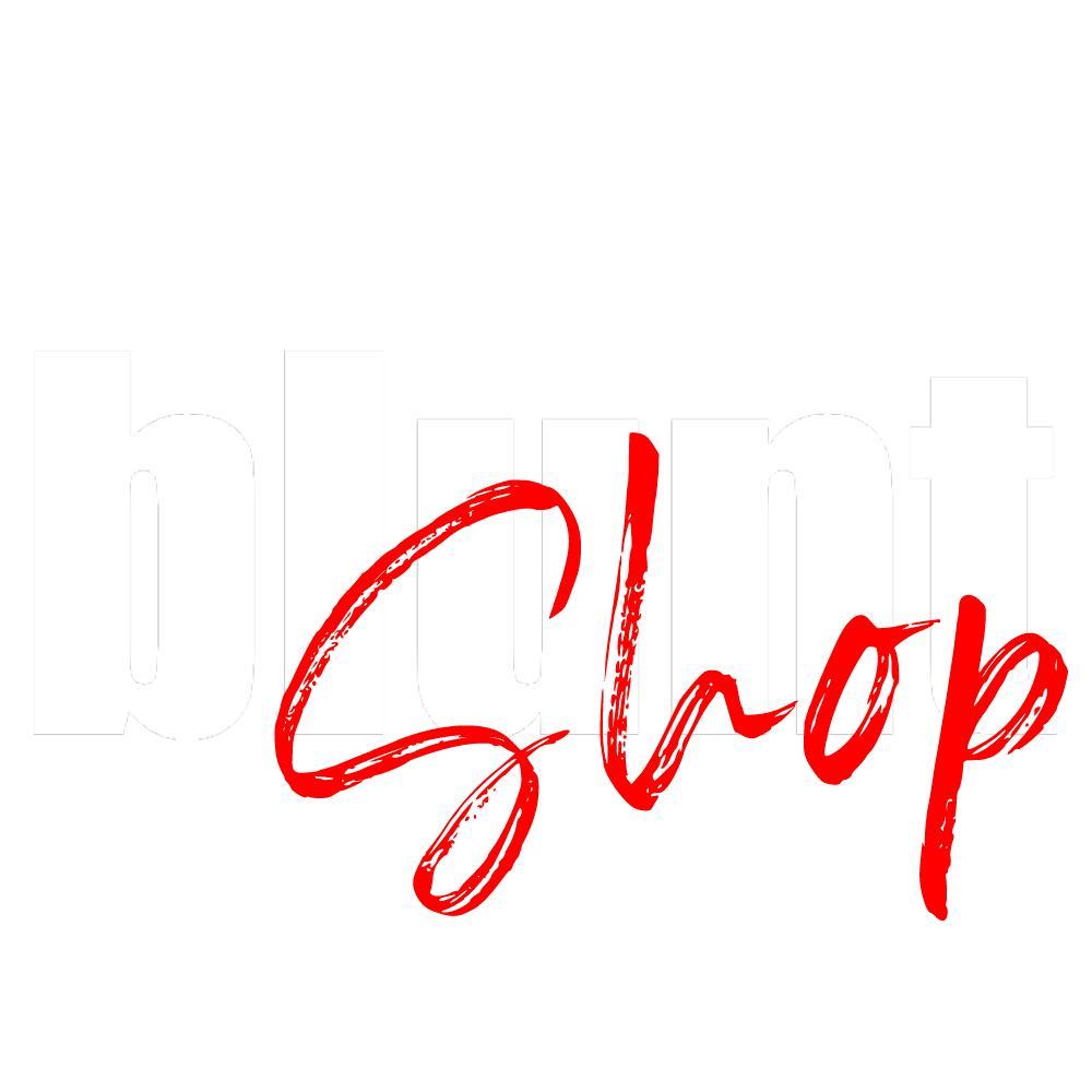 Blunt Shop Logo Bianco