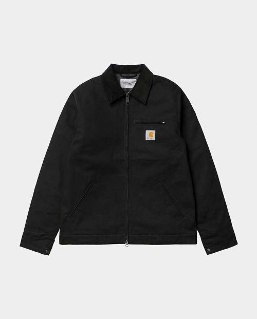Detroit Jacket Black Black Rigid