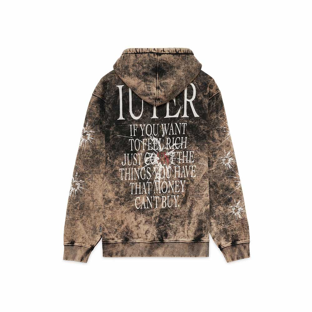 Felpa Iuter Value Hoodie Black