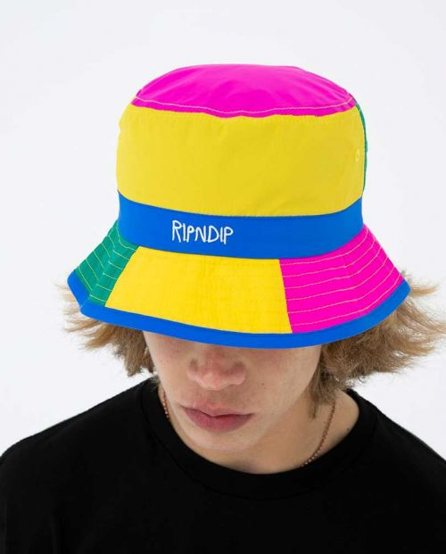Perfect Shade Water Resistand Nylon Bucket Hat Multi