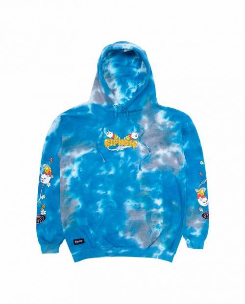 Space Gravy Hoodie Baby Blue Cloud Wash