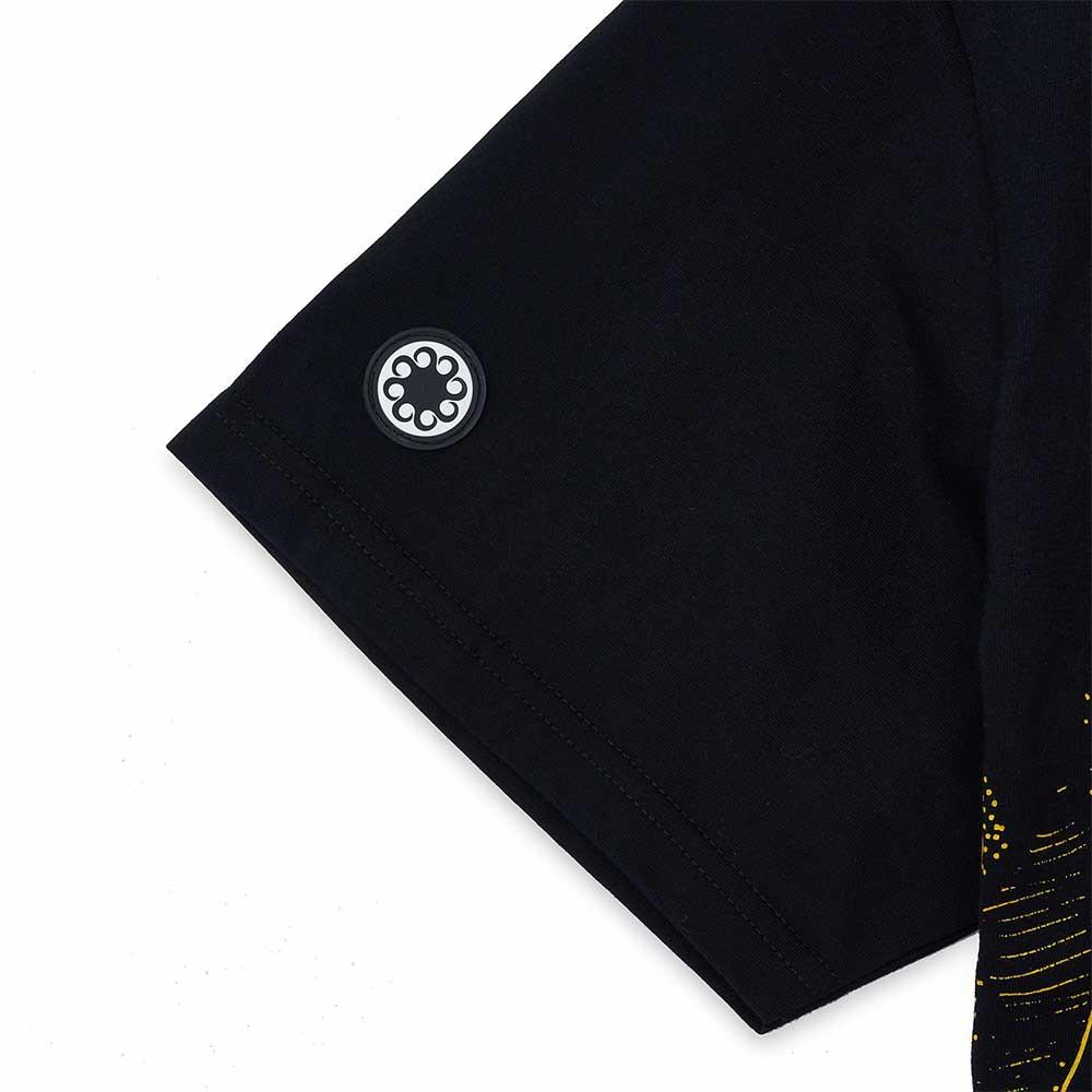 T-Shirt Octopus Blurred Tee Black