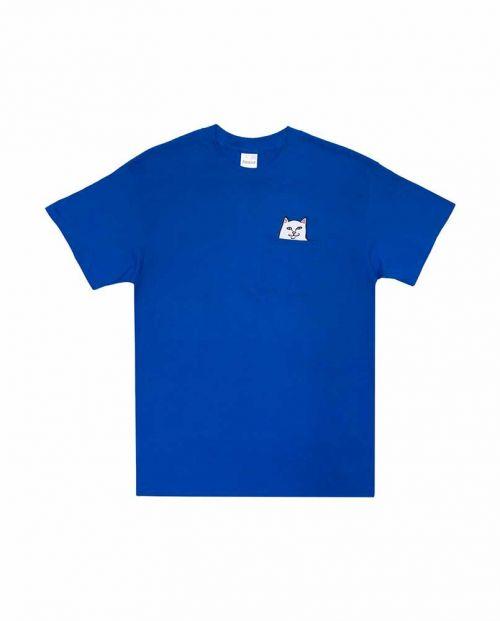 T-Shirt Ripndip Lord Nermal Pocket Royal