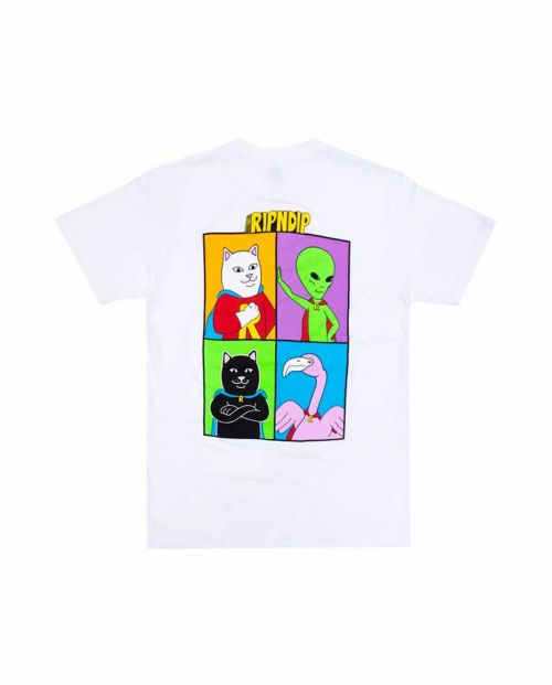 We Can Be Heros Tee White