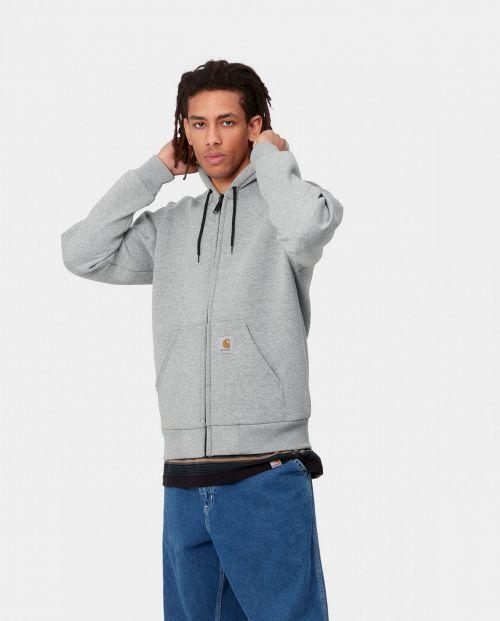 Car-Lux Hooded Jacket Grey Heather Grey