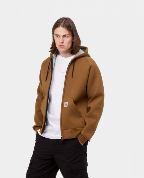 Car-Lux Hooded Jacket Tawny Grey