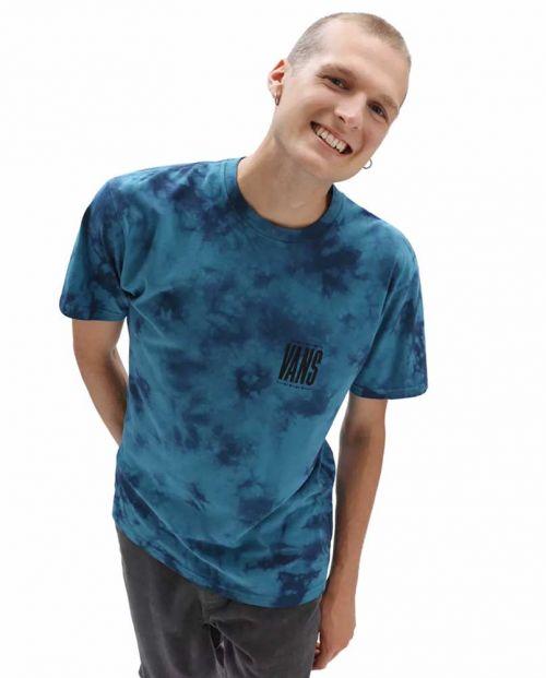 Man Tall Type Tie Dye Blue