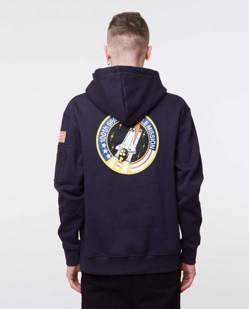 Space Shuttle Hoody Rep. Blue