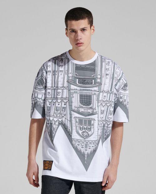 Bench Duomo Rovesciato T-shirt Oversize White