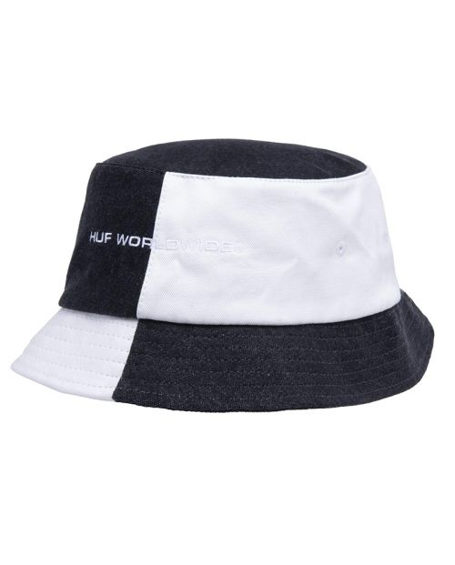 Block Out Bucket Black White