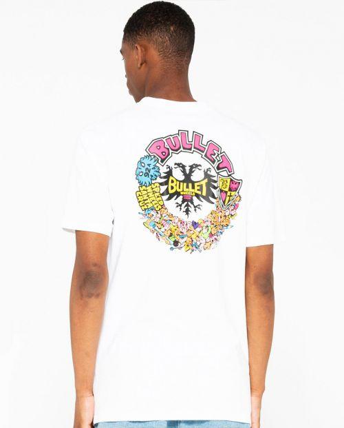 Bullet Riot T-shirt White