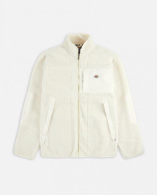Dickies Red Chute Sherpa Jacket Ecru