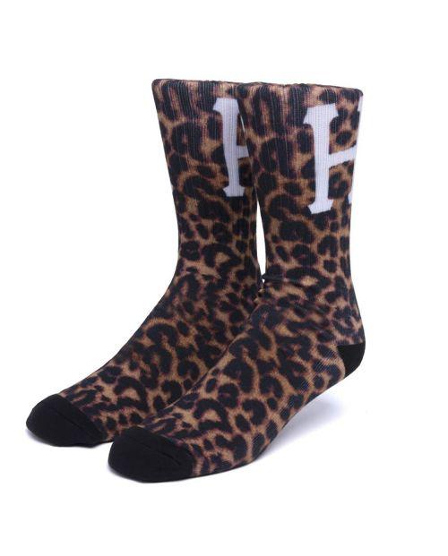 Digital Leopard Socks Leopard