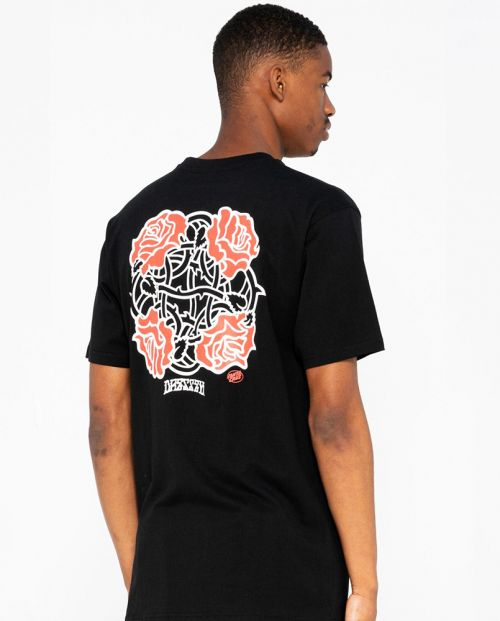 Dressen Roses Club T-shirt Black