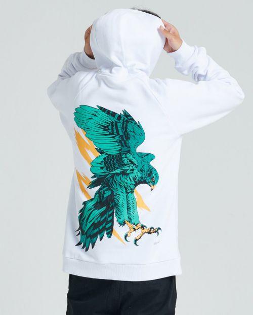 Falco Pellegrino Hoodie White