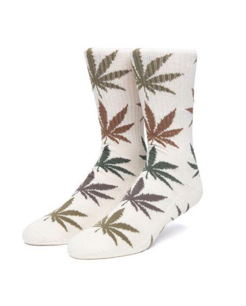 Gradient Leaves Plantlife Socks Natural