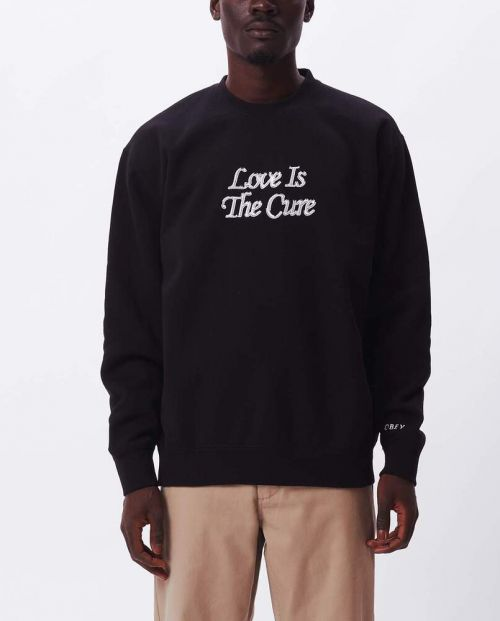 Love is the Cure Crew Black
