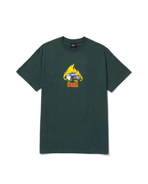 Roasted S/S Tee Dark Green