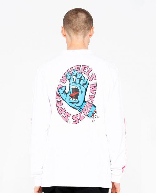 SW Scream L/S T-shirt White