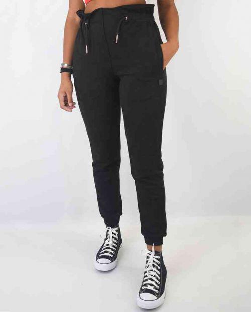 Women Pride High Waist Pants Black