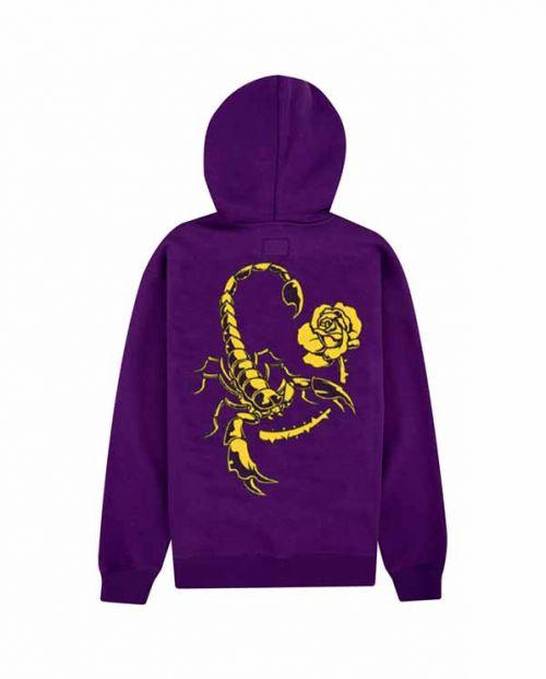 Hoodie Cut You Down Purple