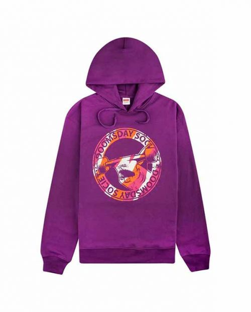 Hoodie Hammerhead Court Purple