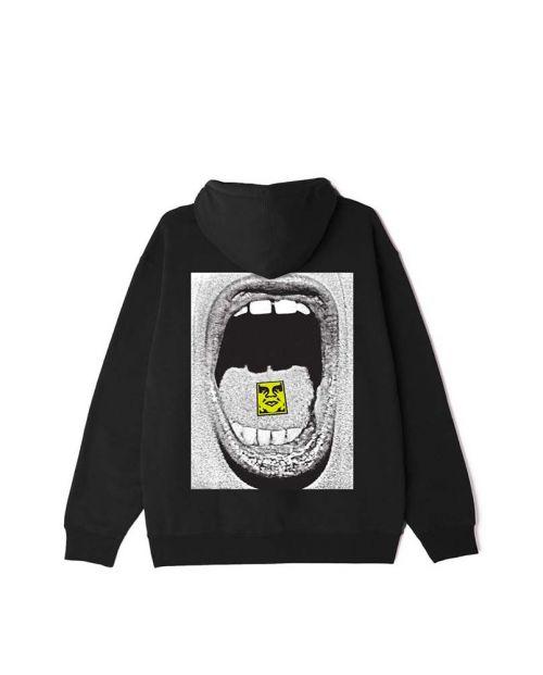 Scream Box Fit Premium Hooded Black