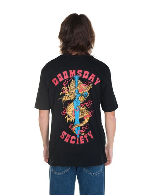 T-shirt Dragon Black